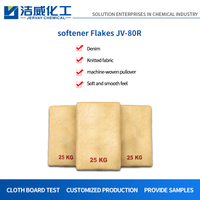 Cationic Flakes Softener for Cotton And Denim JV-80R